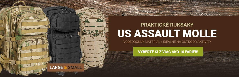 Praktický ruksak US ASSAULT MOLLE