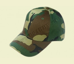 ČIAPKA BASEBALL 6 PANEL. - Woodland