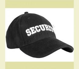 ČIAPKA BASEBALL ′SECURITY′ ČIERNA