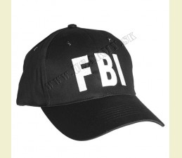 ČIAPKA BASEBALL FBI ČIERNA