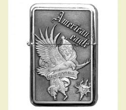 ZAPAĽOVAČ BENZÍNOVÝ AMERICAN EAGLE (RELIÉF OROL) LIGHTER