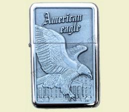 ZAPAĽOVAČ BENZÍNOVÝ AMERICAN EAGLE (RELIÉF OROL) - American eagle White house
