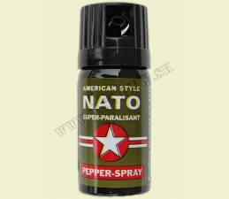 SPREJ OBRANNÝ OC 40 ML - Nato pepper spray - OC