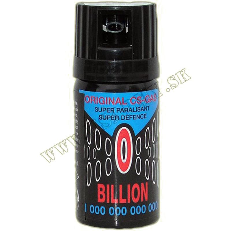 SPREJ OBRANNÝ CS 40 ML - BILLION
