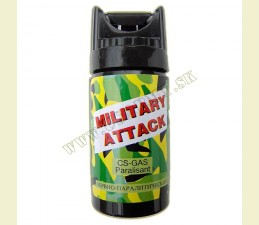 SPREJ OBRANNÝ CS 40 ML - MILITARY ATTACK