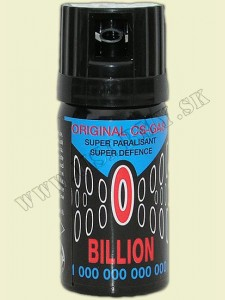 SPREJ OBRANNÝ CS 40 ML - Billion