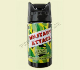 SPREJ OBRANNÝ CS 40 ML - Military attak
