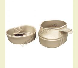 WILDO® POHÁR ŠVÉDSKY ORIG. (FOLD-A-CUP®) SKLADATEĽNÝ 200 ML (BPA FREE) - BÉŽOVÁ