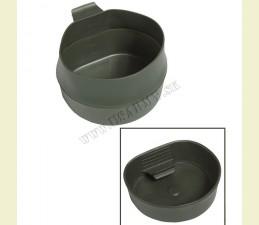 WILDO® POHÁR ŠVÉDSKY ORIG. FOLD-A-CUP® SKLADATEĽNÝ 600 ML BPA FREE OLIV ZELENÁ