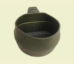 WILDO® POHÁR ŠVÉDSKY ORIG. FOLD-A-CUP® SKLADATEĽNÝ 200 ML BPA FREE OLIV ZELENÝ - Oliv zelená