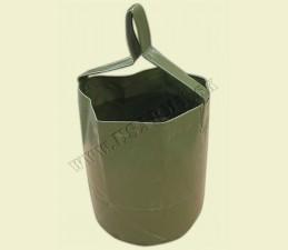 NÁDOBA NA VODU Z PLASTU SKLADATEĽNÁ 10 LTR - Oliv zelená
