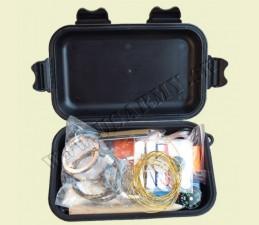 BALÍČEK NA PREŽITIE COMBAT VO VODOTESNOM BOXE 13,5 x 8 x 4 CM