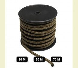 ŠPAGÁT COMMANDO NA BUBNE (Ø 5MM/70 M), (Ø 7MM/50 M), (Ø 9MM/30M) - COYOTE