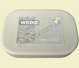 WILDO® NÁDOBA BOX NA POTRAVINY 2 DIELNA - BPA FREE Made in SWEDEN - SIVÁ