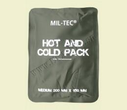 OTEPĽOVAČ - OCHLADZOVAČ HOT/COLD PACK 20x15 CM - OLIV ZELENÁ