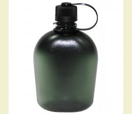 FĽAŠA POĽNÁ GEN.II BPA FREE 1 LTR - TRANSPARENT TMAVO ZELENÁ
