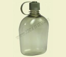 FĽAŠA POĽNÁ GEN.II BPA FREE 1 LTR - TRANSPARENT ZELENÁ