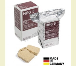 NRG-5 (NÚDZOVÁ POTRAVINOVÁ STRAVA) 500 GR. (9 BALÍČKOV V BALENÍ)