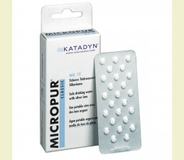 KATADYN TABLETKY MICROPUR CLASSIC (MC 1T) NA DEZINFEKCIU VODY (100 ks)