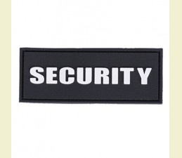 NÁŠIVKA SECURITY 3D PVC 8,6 x 3,3 CM SO SU...