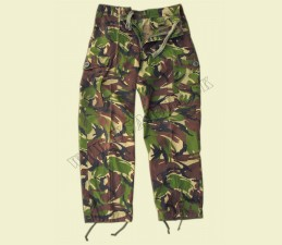 NOHAVICE BRIT. ARMY ORIG. TEMPERATE LIGHTWEIGHT DPM WOODLAND POUŽ.
