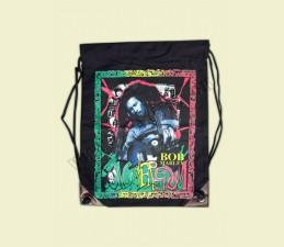 VAK - VRECKO S MOTÍVMI  NA PLECE - Bob Marley gitara