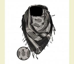 ŠATKA ARAB (SHEMAGH) 110,0 x 110,0 CM ČIER...