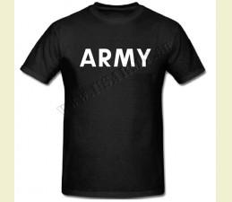 TRIČKO MOTÍV ′ARMY′ ČIERNA