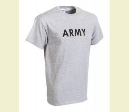 TRIČKO MOTÍV  ′ARMY′ SIVÁ