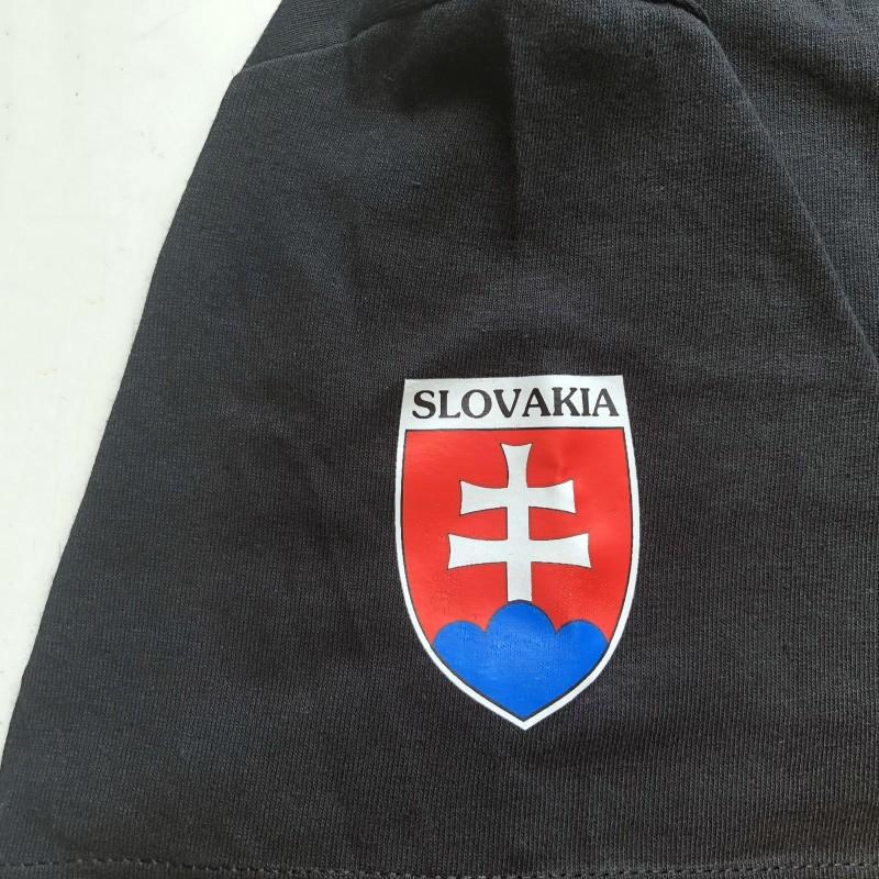 7a9ef199c39d5 TRIČKO SLOVENSKO NA ĽAVOM RUKÁVE - ČIERNA | Internetový obchod ...