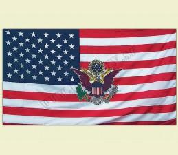 VLAJKA USA S ORLOM - 150 x 90 cm