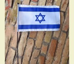 VLAJKA MALÁ IZRAEL - 45 x 30 CM