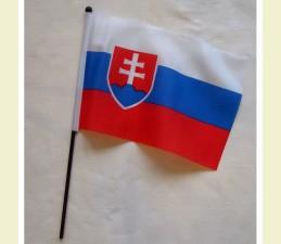 VLAJKA STOLOVÁ SLOVENSKO 16 x 23 cm